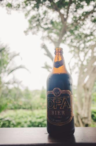 Das erste brasilianische Bier